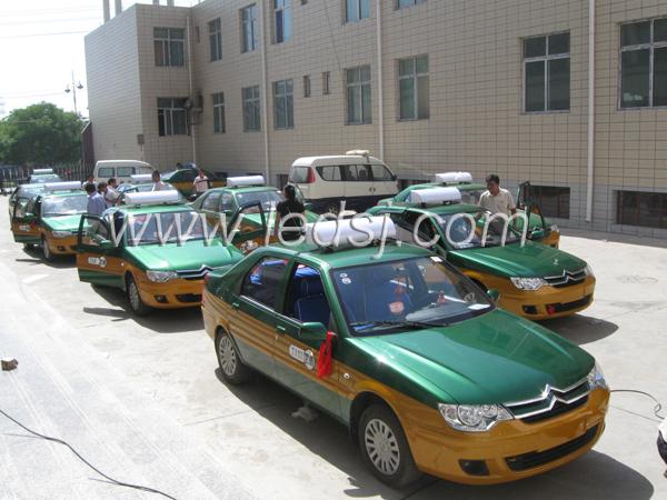 出租车车顶显示屏---武威上市产品 - 青岛三杰电子