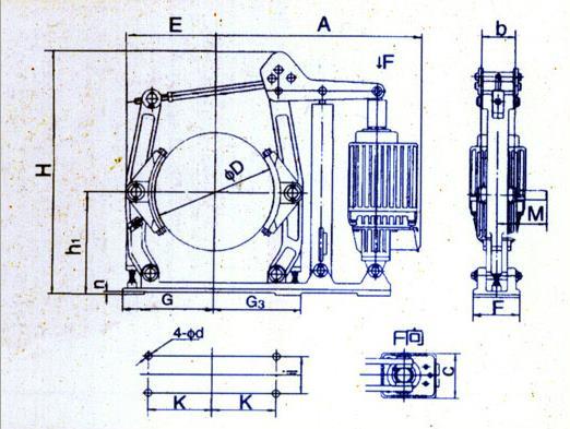 ywz5系列制动器