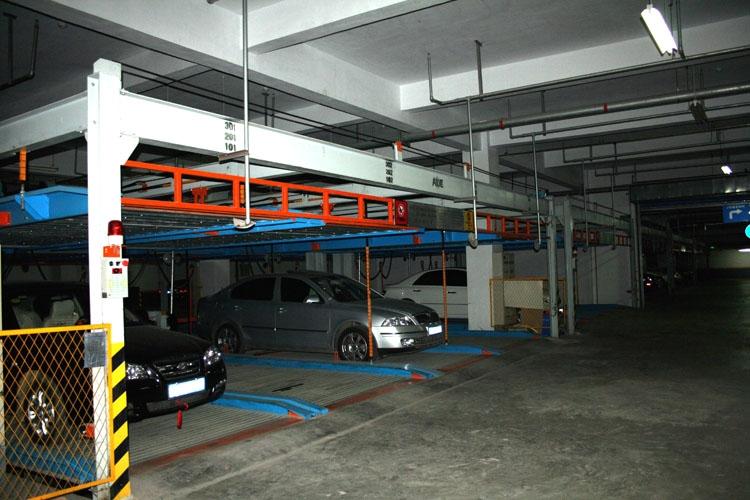 确保在一定时间内汽车的出库和入库,因此,并不是车库建得越大越好.