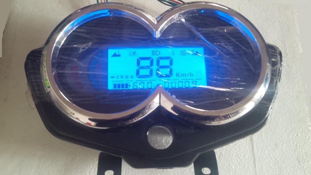 2015新款电动三轮车仪表 天龙36.
