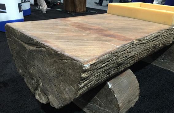 清水混凝土仿木家具,水泥仿木家具尽在河南天目装饰