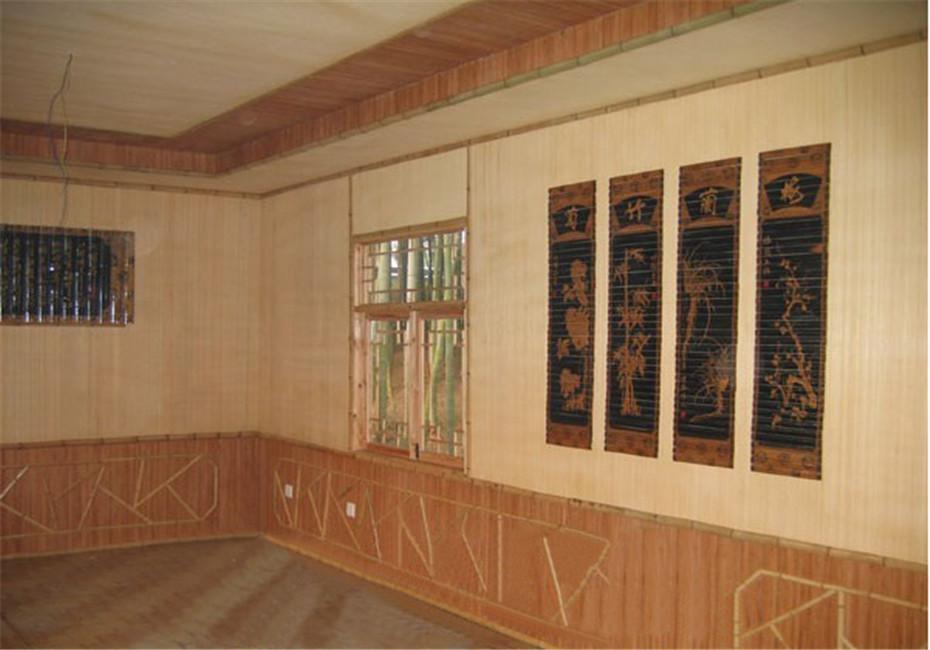 竹室内装修材料 - 广德县杨滩镇四季青竹工艺品厂