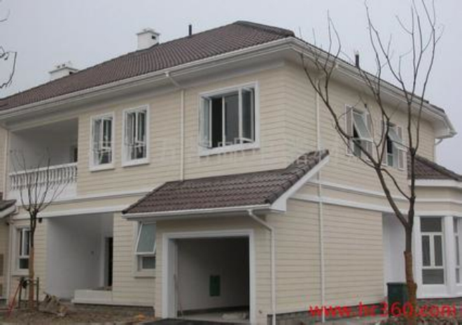 别墅天沟结构图片