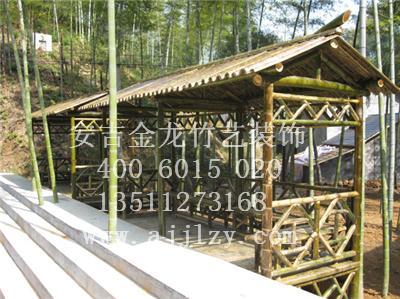 浙江金龙竹艺十三年来专做竹建筑以及竹建筑设计与装修