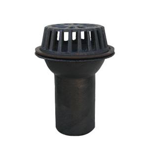 雨水斗设在屋面雨水由天沟进入雨水管道的入口处.