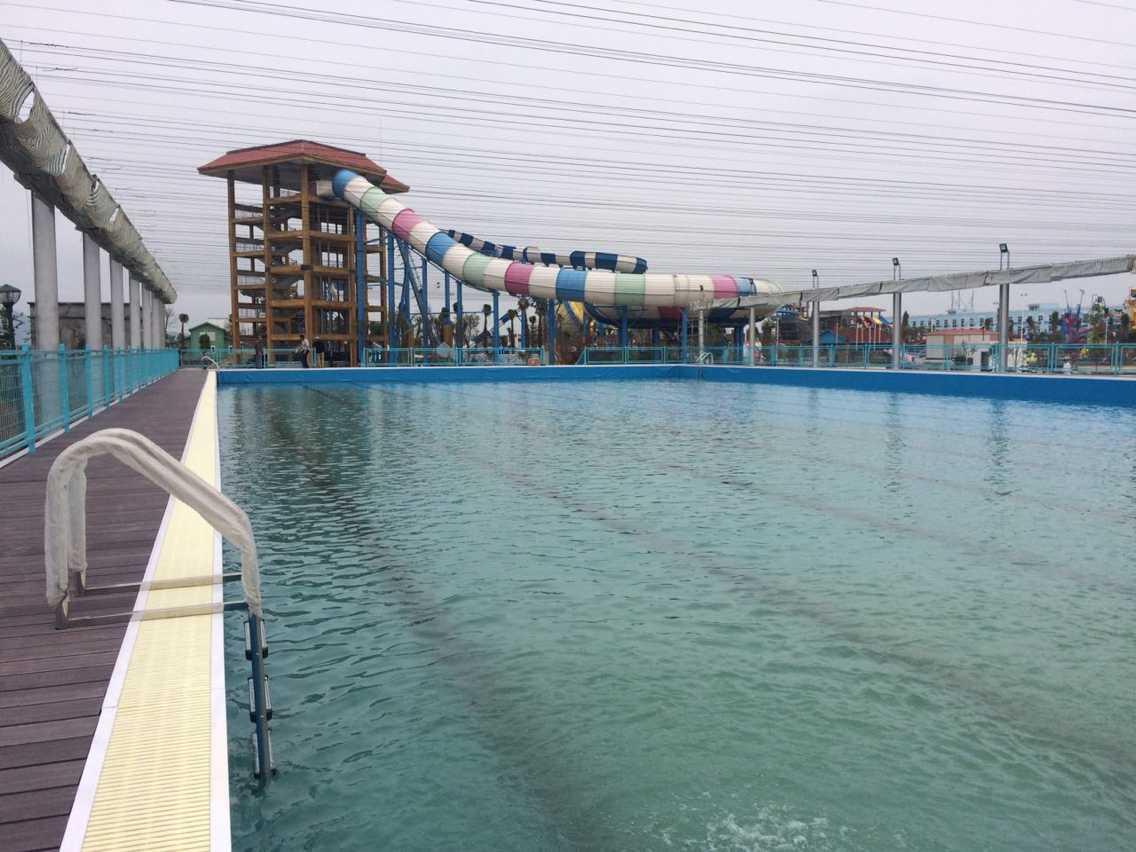 温州海豚湾梦幻水上乐园公司拆装式游泳池