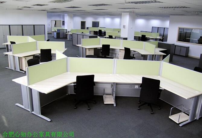 安徽组合办公桌图片