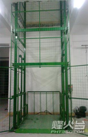 導軌升降機結構
