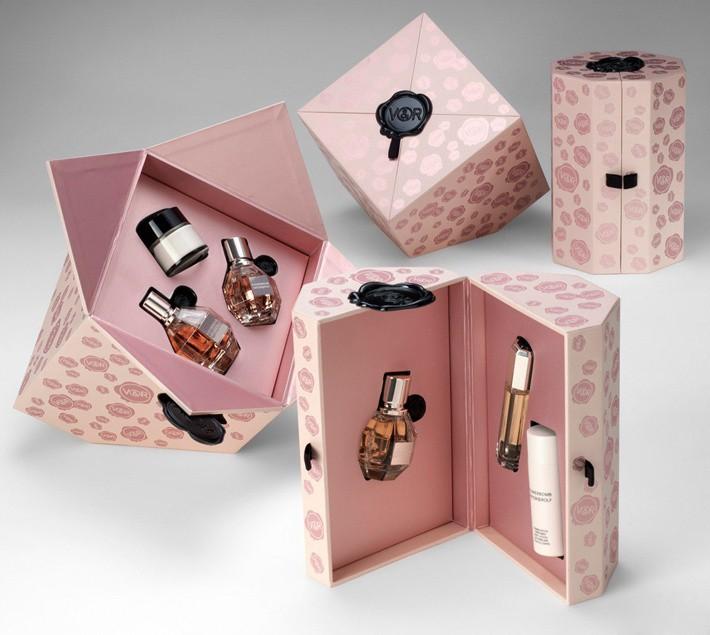 化妆品包装欣赏