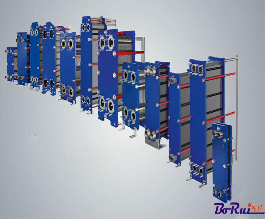 可拆板式换热器特点:  结构紧凑,节约空间:可拆板式换热器的结构