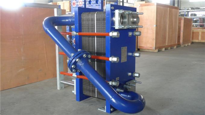 换热器的核心元件,由于板片对表面扰流结构优化设计