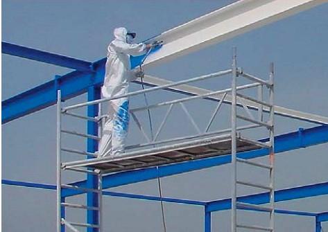 钢结构喷漆 - 苏州金蜘蛛登高装饰工程有限公司 - 台