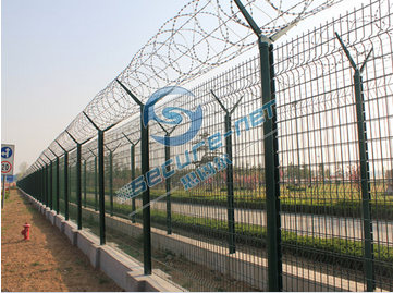 青岛国际机场围栏