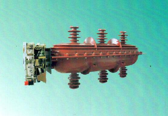 把气体压缩;另一方面利用两套四连杆机构组成的传动系统,将主闸刀先图片
