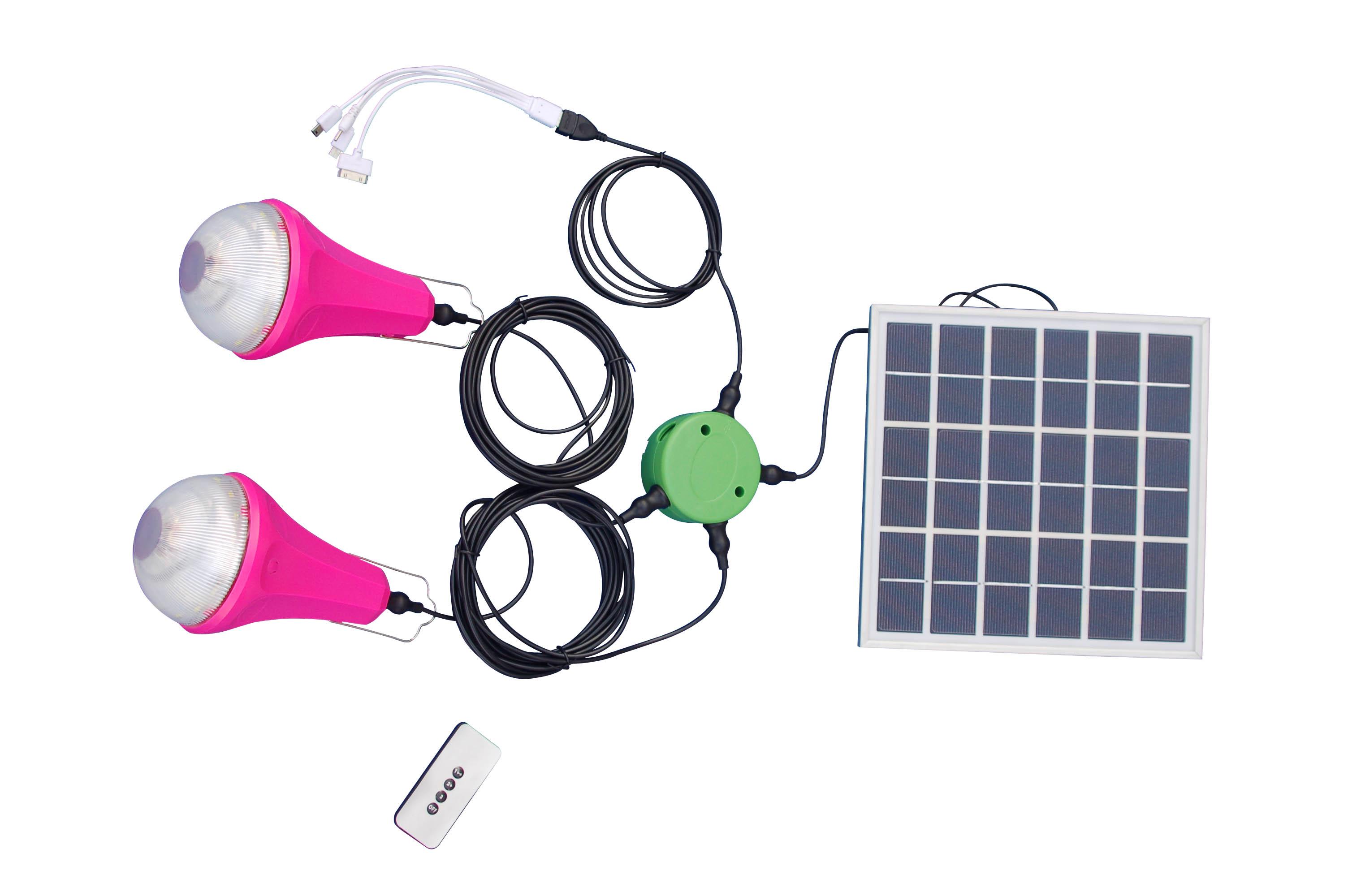 diy太阳能照明小系统