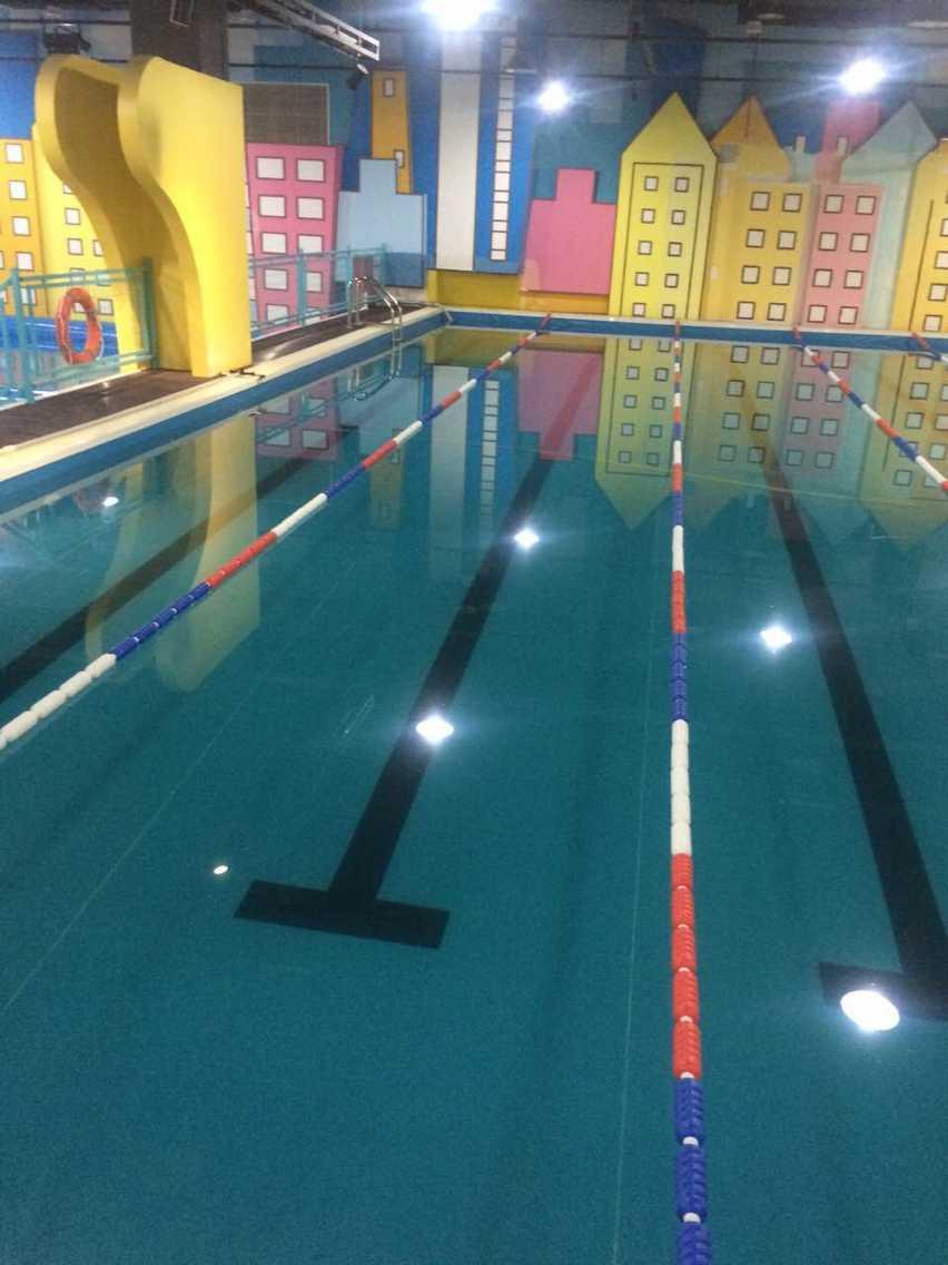 整體式泳池