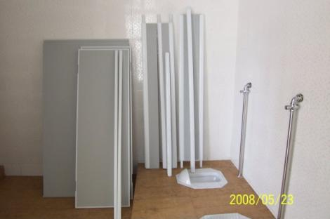 PVC衛生間隔斷