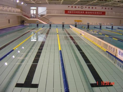 游泳池墊層