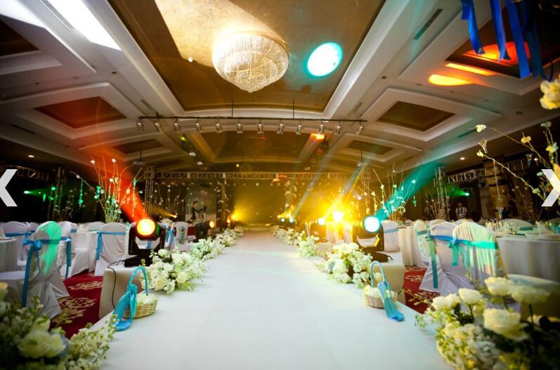 结婚礼堂已接待了许多喜欢西式教堂婚礼的上海新人