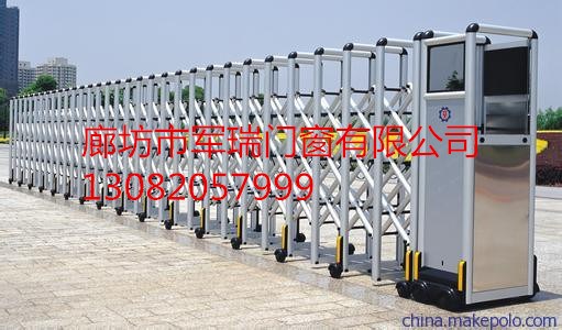 """军瑞电动门机功率:370w―1500w 启闭速度:10―30米/分 可加装 """"红外线"""