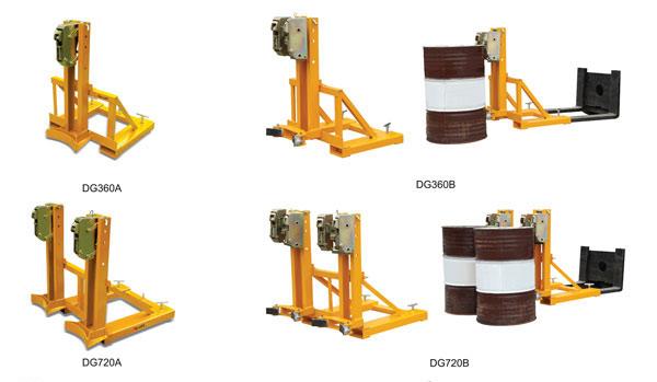 无锡叼扣式叉车专用油桶搬运夹