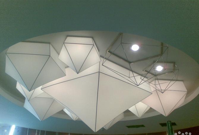 软膜天花 - 江苏天彩膜结构工程有限公司