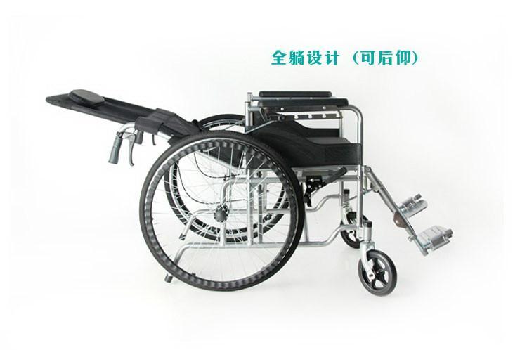 老年人残疾人躺式轮椅
