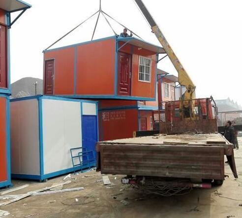 集装箱房与 活动板房的比较  结构方面