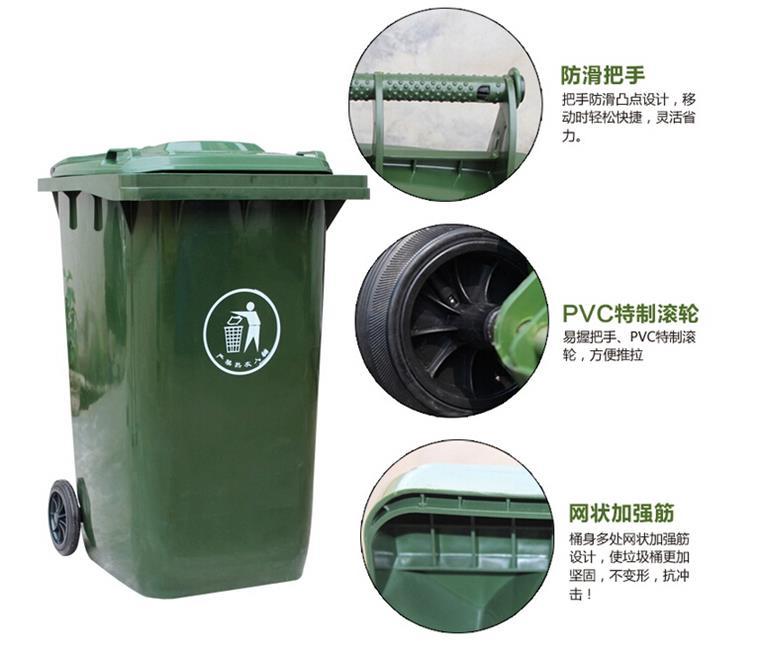 脚踏式垃圾桶的好处:可以依靠脚踏板的杠杆原理