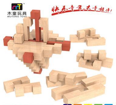 孔明锁 - 浙江木童玩具有限公司