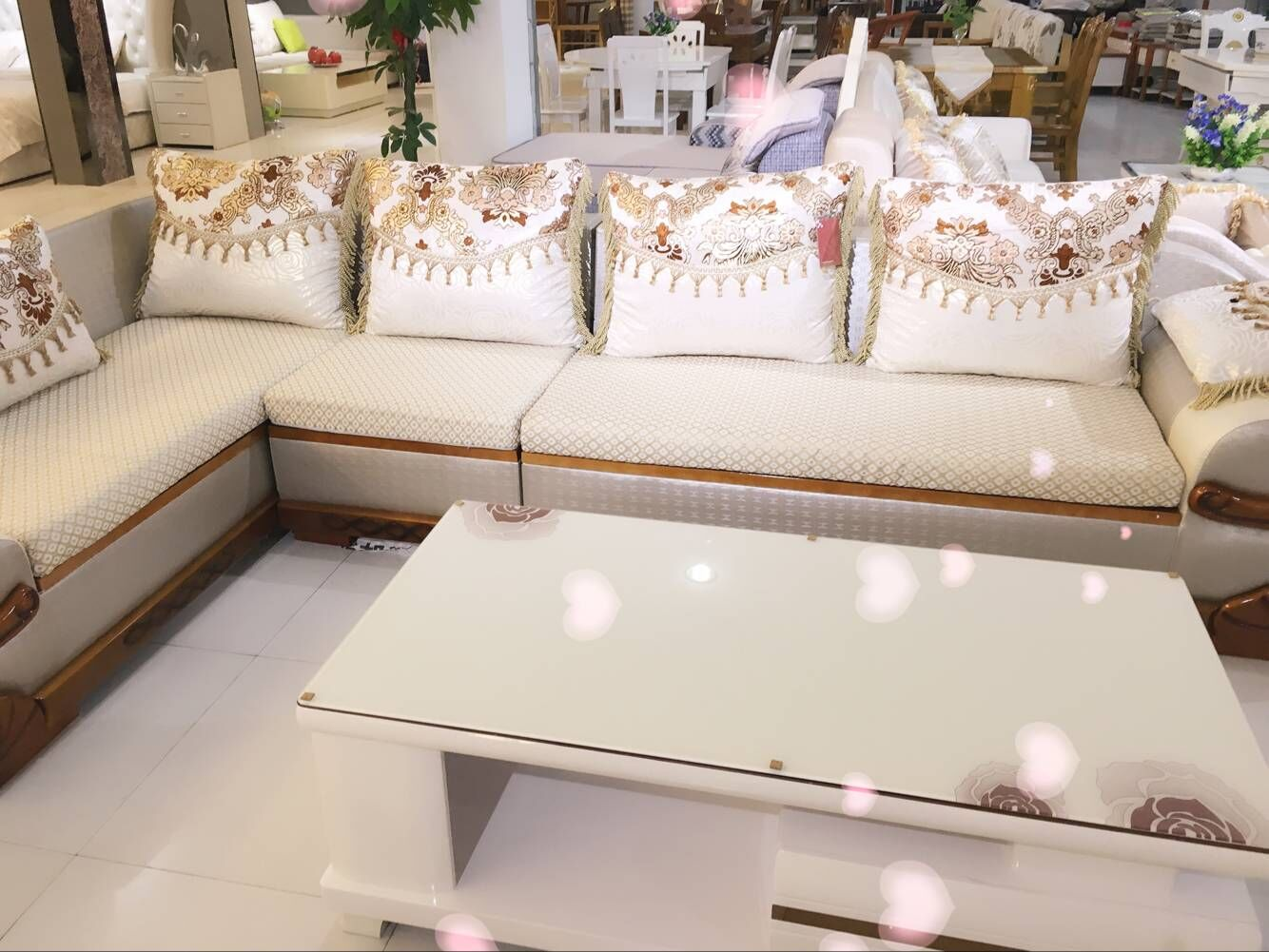 奥得鑫欧式雕花沙发图片
