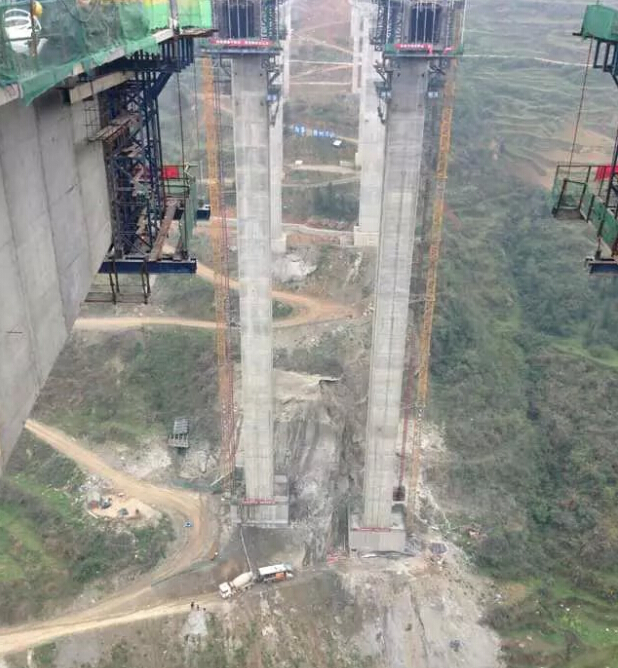 公路桥梁工程包括桥梁主体(即桥梁上部结构和桥梁下部结构)
