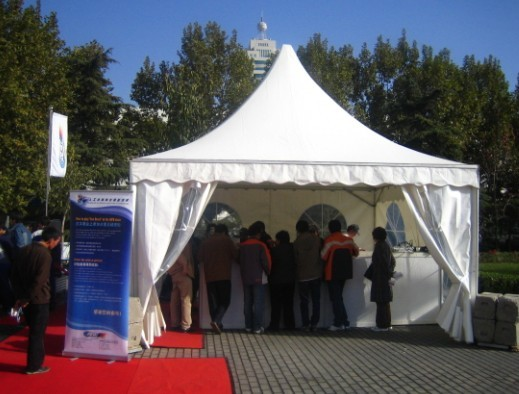 尖顶活动篷房图片