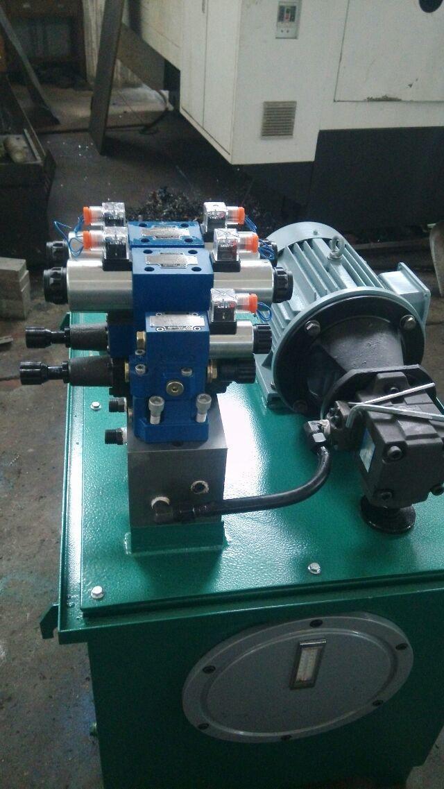 液压系统泵站