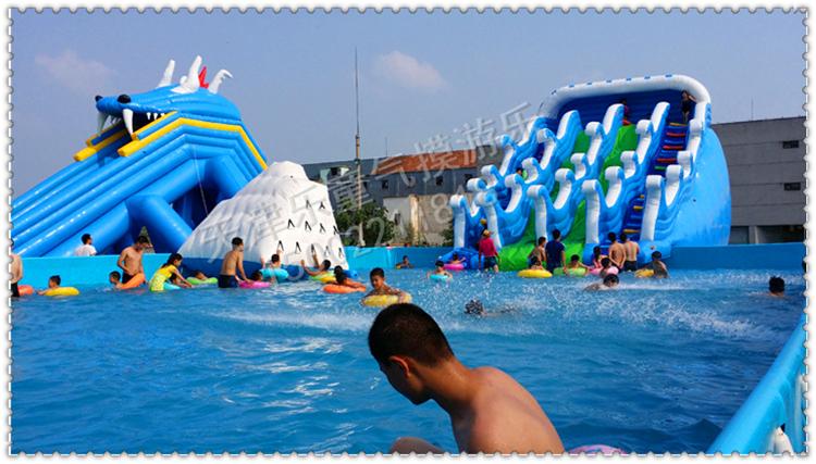 支架水池超大型儿童成人游泳池充气泳池
