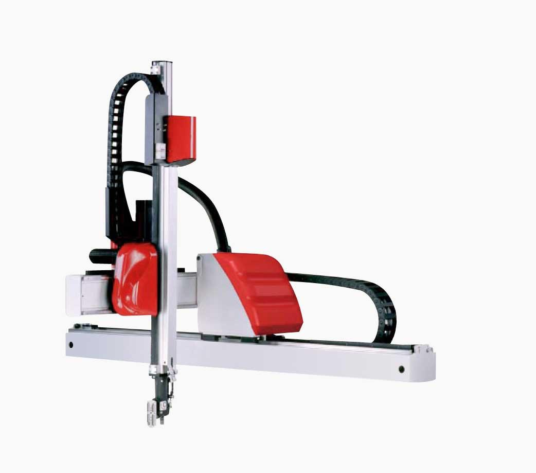 如此紧凑的伸缩臂设计只要求很小的开模高度,能达到 快速的移取时间