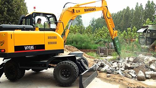 小型轮胎挖掘机|小型轮胎挖掘机|小型轮胎挖掘机