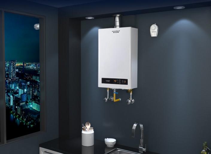 安全方面,燃气热水器实现产热和供热的分离,沐浴在浴室,安装在厨房,避图片