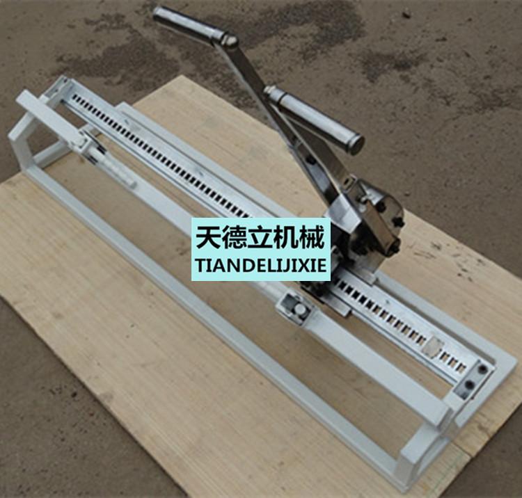 煤矿用皮带钉扣机    双排扣结构:对输送带宽度的适应性强,接头成槽性