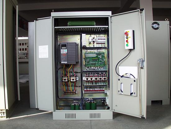plc变频调速电梯系统总体电路图