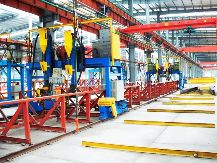 钢结构焊接生产线