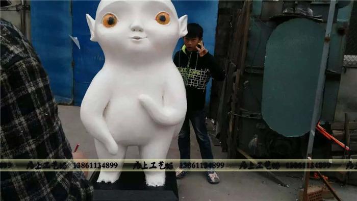 动物主题泡沫雕塑