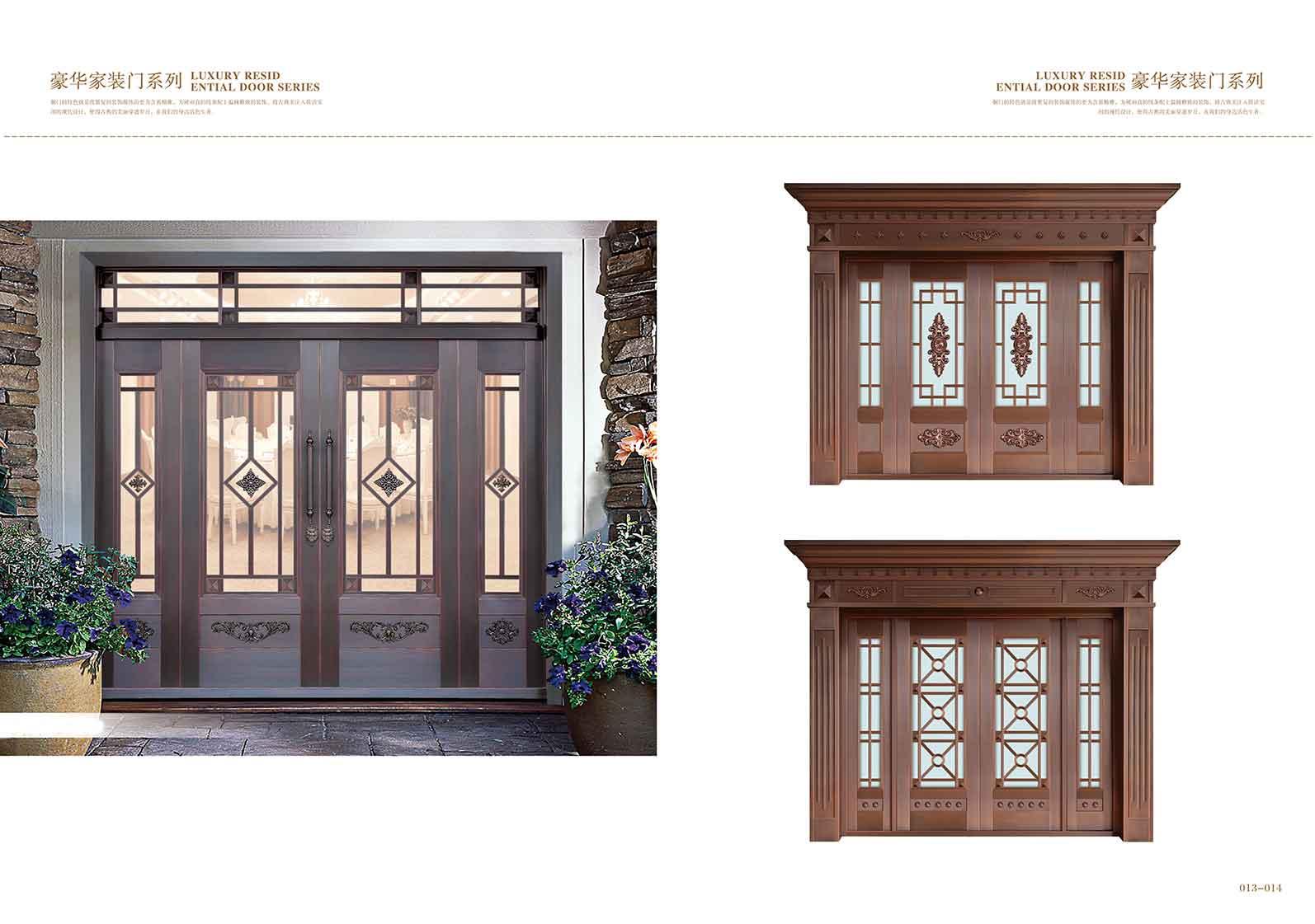 别墅铜门是一种比较高档的家装门,这种门在使用的时候是需要格外的注意的,因为如果不仔细的使用的话,那铜门是比较容易褪色的,所以在我们使用的时候一定要经常采取一些保养的方式,那下面我们就为大家简单的介绍一下关于别墅铜门在使用过程中应该注意的问题。   因为铜门比较容易发生氧化反应,所以在使用铜门的时候一定要注意不能碰到水,也就是说上手如果带有水渍的话,需要擦干净之后再开门,如果长时间的用带有水渍的手开门的话,那铜门就非常有可能发生变色。   第二、在使用铜门的过程中,不能用力过蒙,因为如果用力比较大的话,那会
