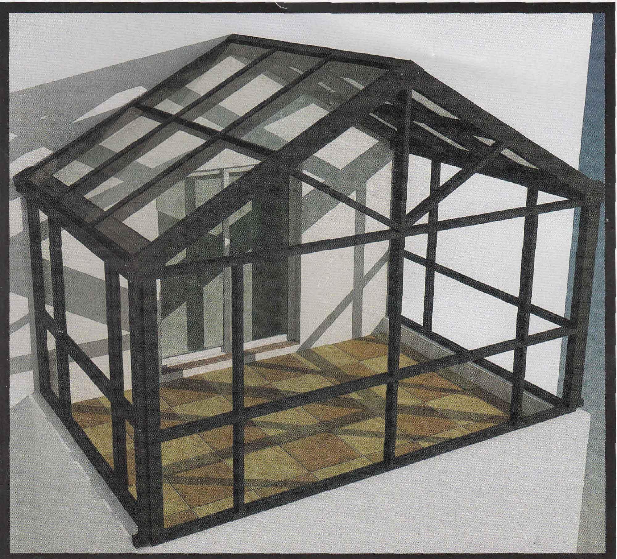 选择专业化的阳光房系统,可以实现关于采光和设计几乎所有可能的设计