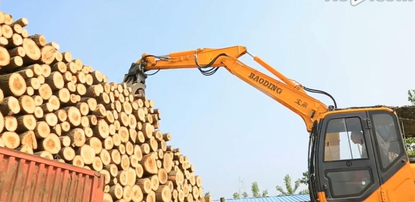 抓木挖掘机,抓木挖掘机价格多少一台