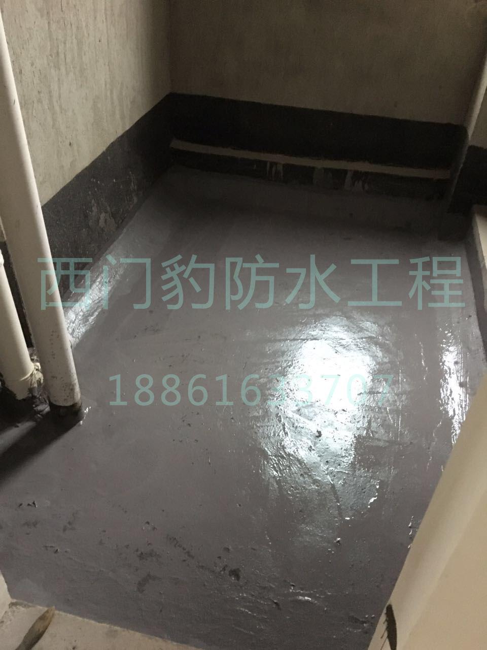 下沉式卫生间防水产品图片:    下沉式卫生间防水产品步骤:    1