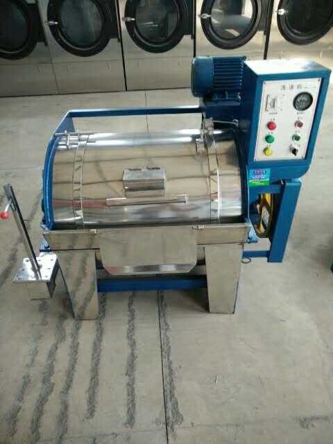 小型工业洗衣机15公斤           小型工业洗衣机的工作流程由进水