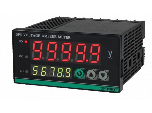 五位多功能电压电流表dp5型