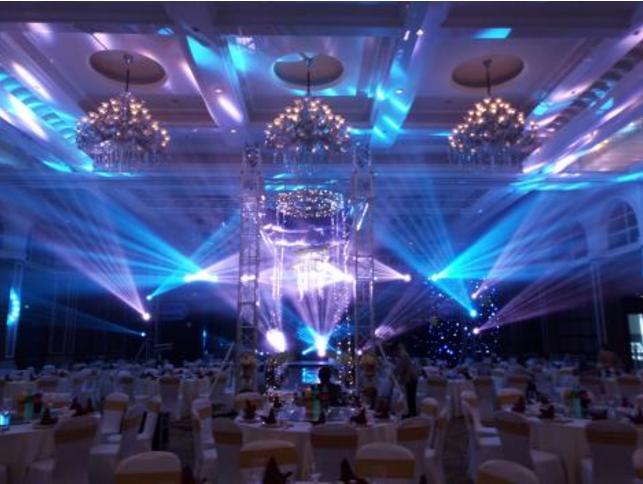 高端婚礼灯光