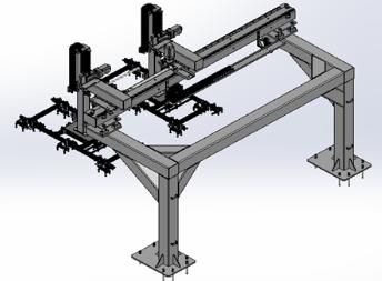 TPT自动铺设机械手